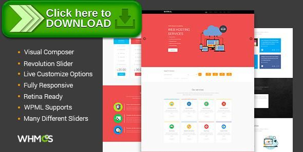 ThemeForest]Free nulled download Material Web Hosting WordPress ...