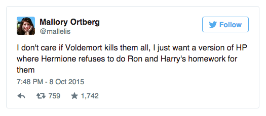 "BuzzFeed Books on Twitter: ""29 hilarious tweets only ""Harry Potter"" fans will appreciate: http://t.co/WUR4XEdAnR http://t.co/Pfk9hqTd1f"""