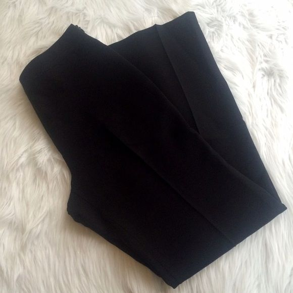 "BLACK DRESS PANTS Worn once and have been dry cleaned. I have the blazer listed separately size 4P inseam 27""  **remember to bundle and save 10%** no holds/no trades/no modeling/no asking for lowest Ann Taylor Pants Trousers"