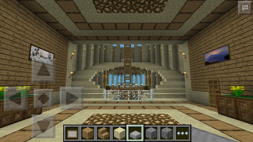 minecraft how to make stairs sittable