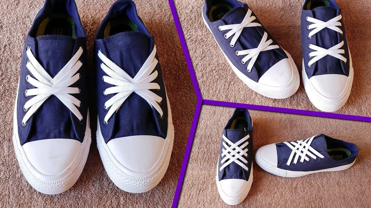3 Beautiful ways to tie Shoe Laces  d9160bdf0