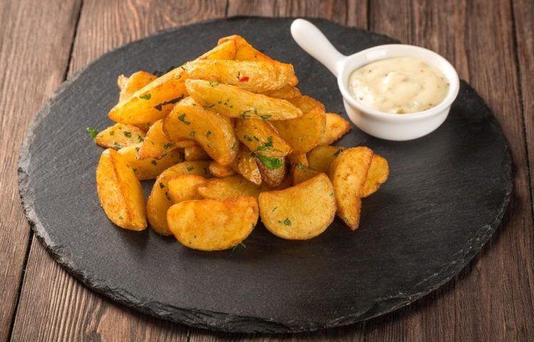 بطاطس ودجز بالفرن سيدات مصر Sweet Potato Food Vegetables