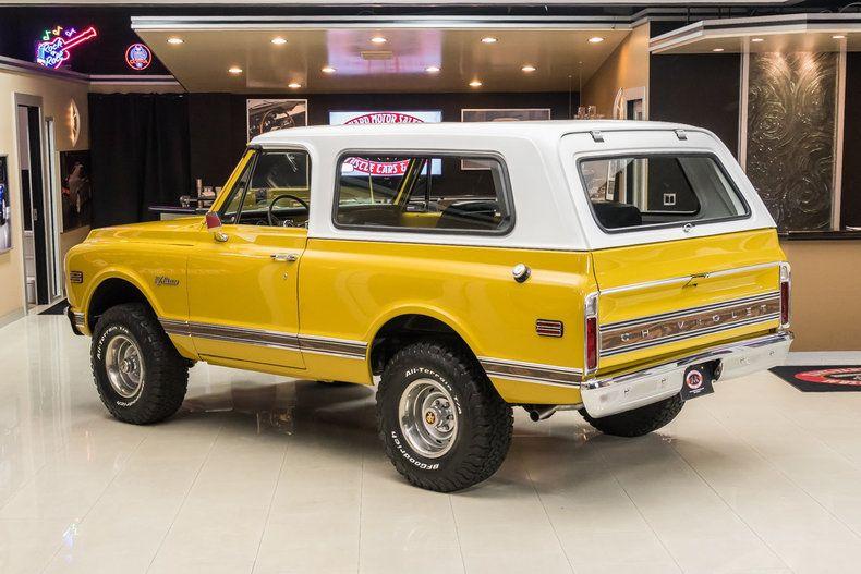 72 K5 Blazer Chevy Blazer K5 Classic Chevy Trucks 67 72 Chevy