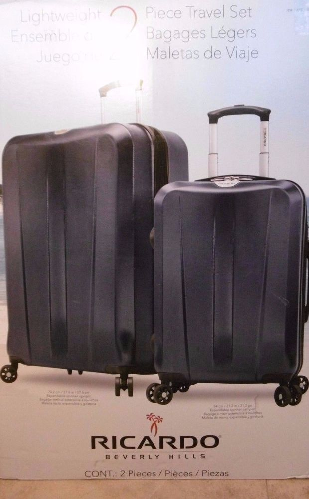 ae4dbfc11 Find many great new & used options and get the best deals for Ricardo  Beverly Hills 2 PC Spinner Set Hardback (27/21-Inch) Lightweight Luggage at  the best ...