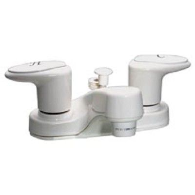 RV Tub Shower Faucet With Diverter, Lavatory, 4\