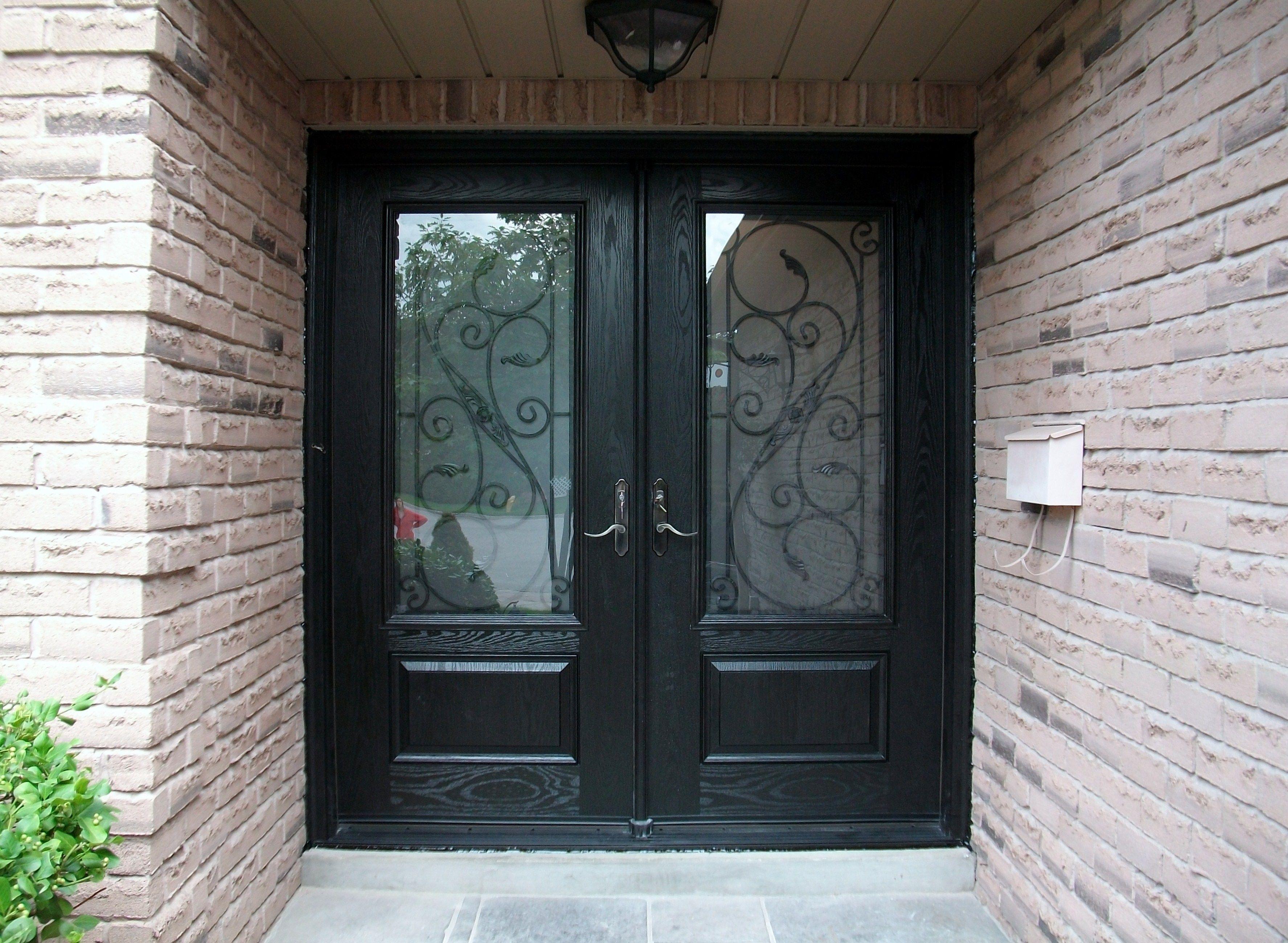 Double Front Entry Doors Glass Httpcommedesgarconsmademoiselle