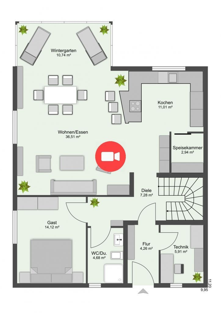 Satteldachhaus SDH 160 Ökodomo in 2020 Haus planung