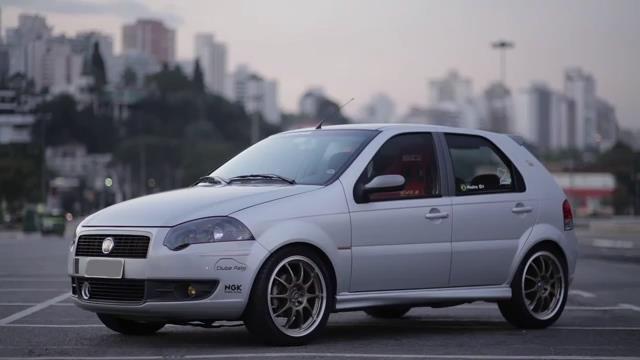 Fiat Palio 1 8r Abarth Com Imagens Carros Tunados Fiat