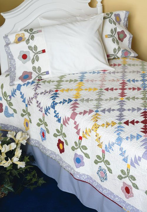 Create a Masterpiece with This Lovely Pattern | Colchas, Romance y ...