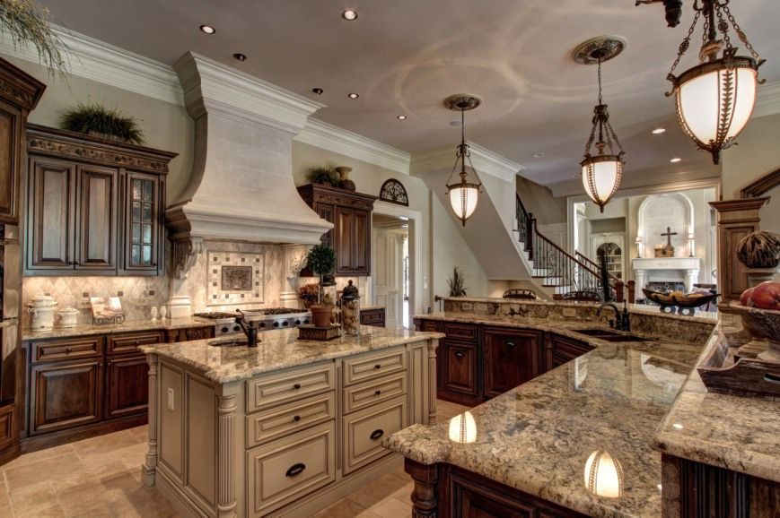 Pin By Nanette Olmos On Gourmet Kitchens In 2020 Tuscan Kitchen Home Luxury Kitchens