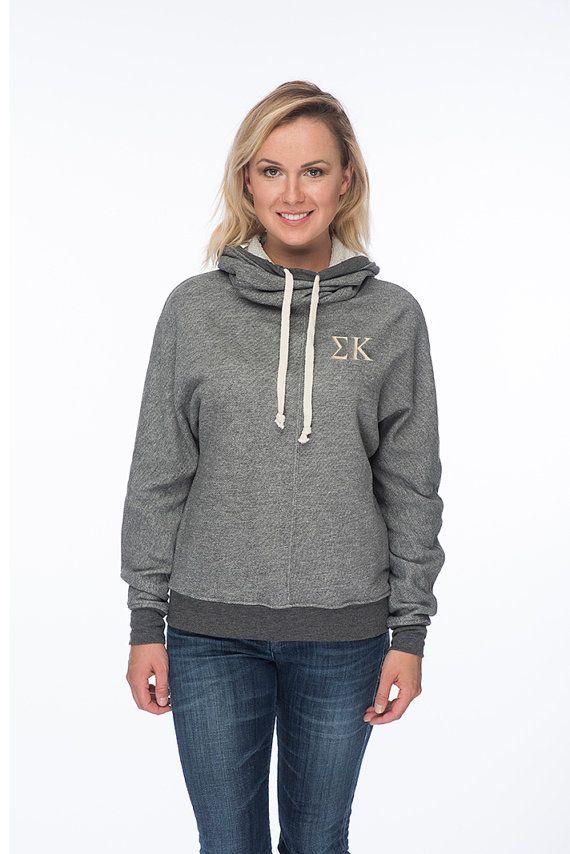 Sigma Kappa Cowl Neck Sweatshirt