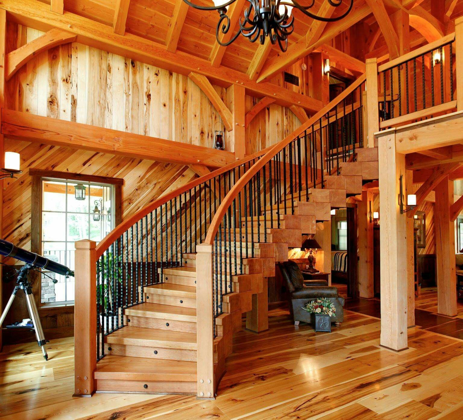 Pin de Autumn Eastman en log homes | Pinterest