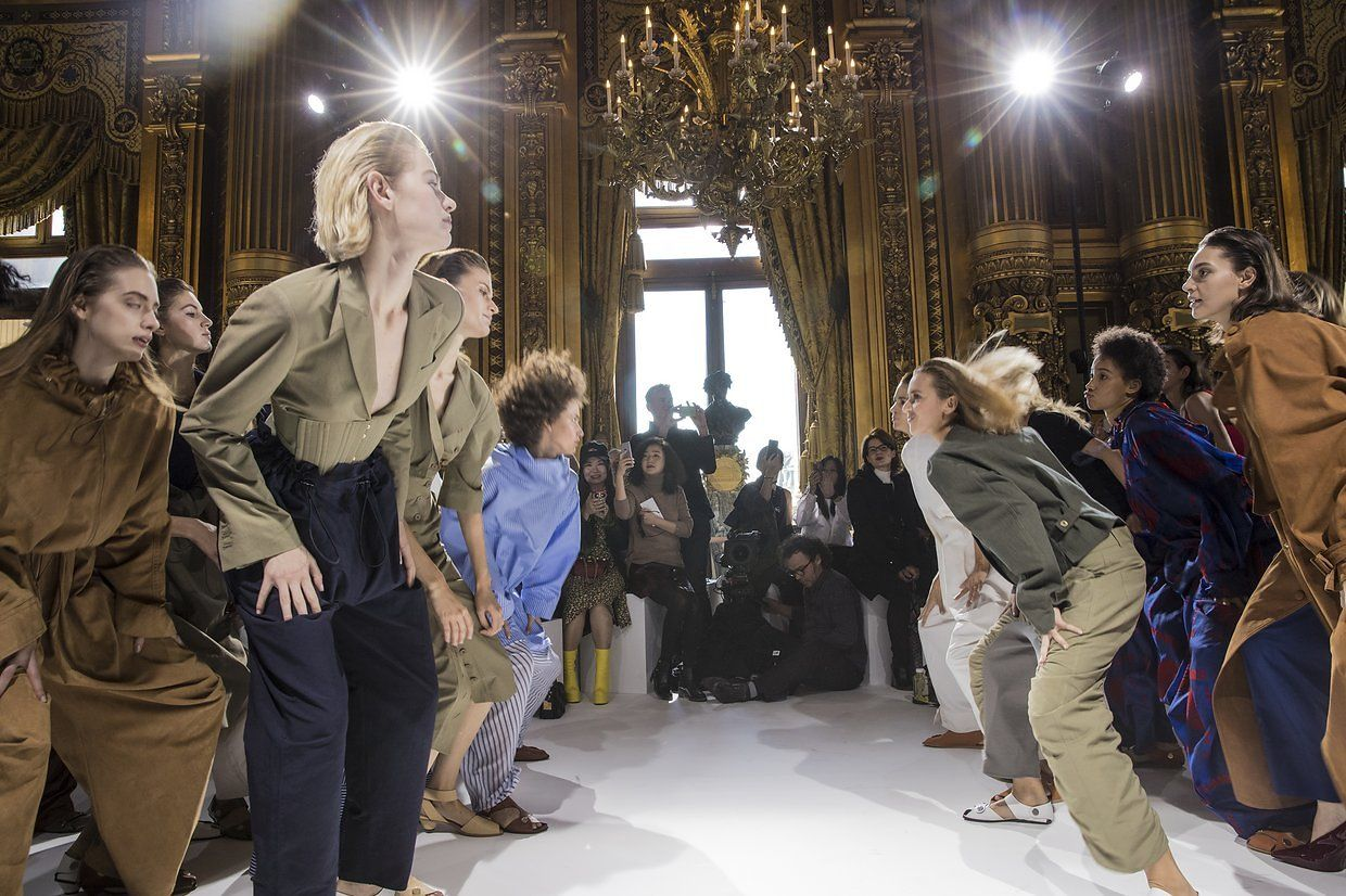 Go Backstage at Stella McCartney and More Shows on Paris