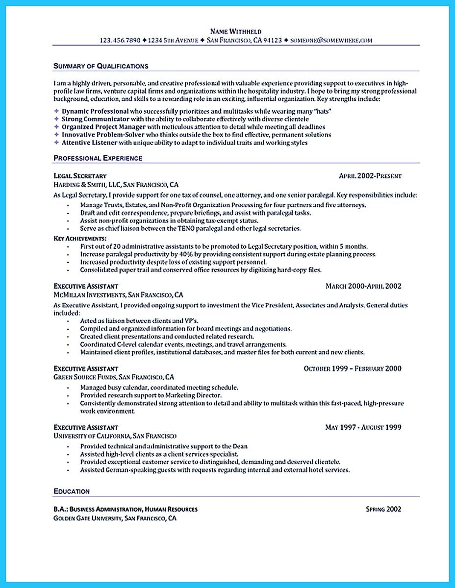 How To Write An Resume As You Are Confused On How To Write Assistant Resume You Can Just