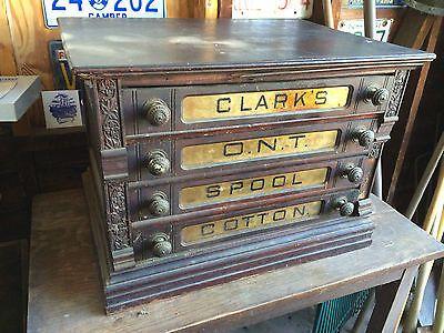 Details About Rare Antique Clark S Ont Spool Cotton 4