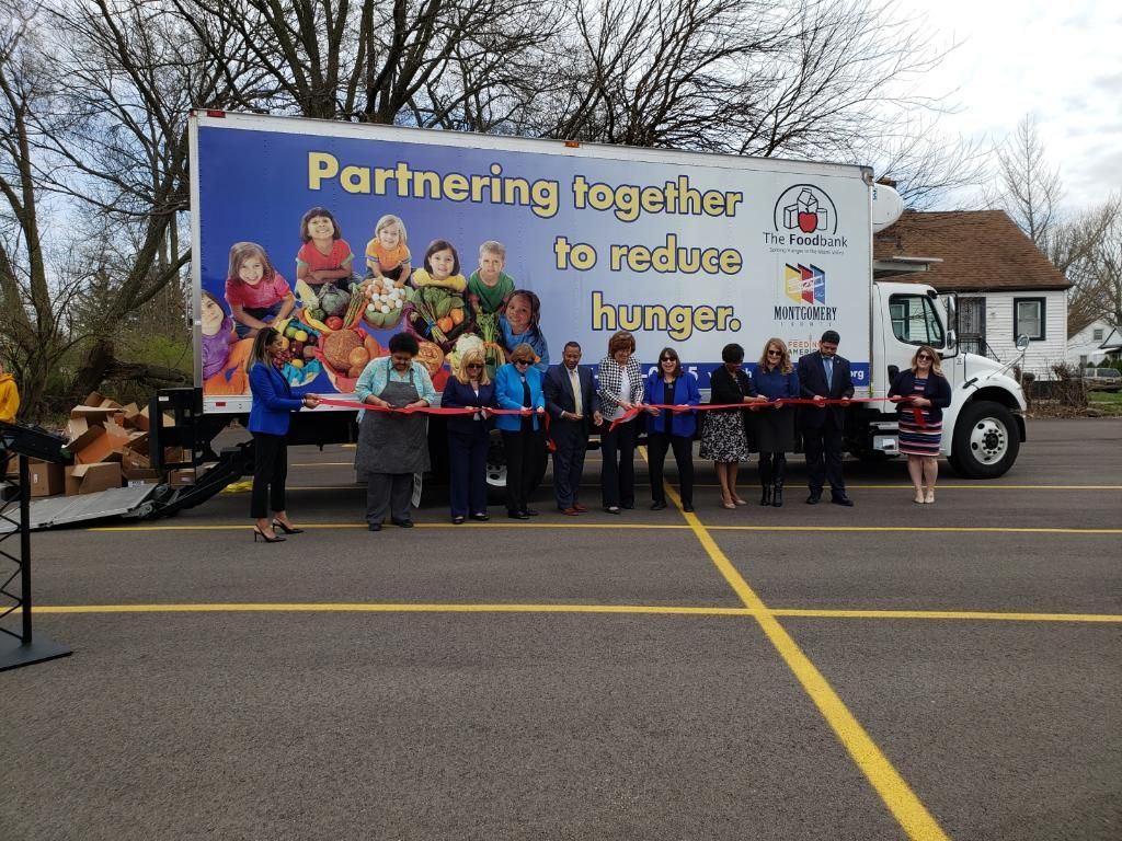 Montgomery County and The Foodbank Inc. Unveil New Truck