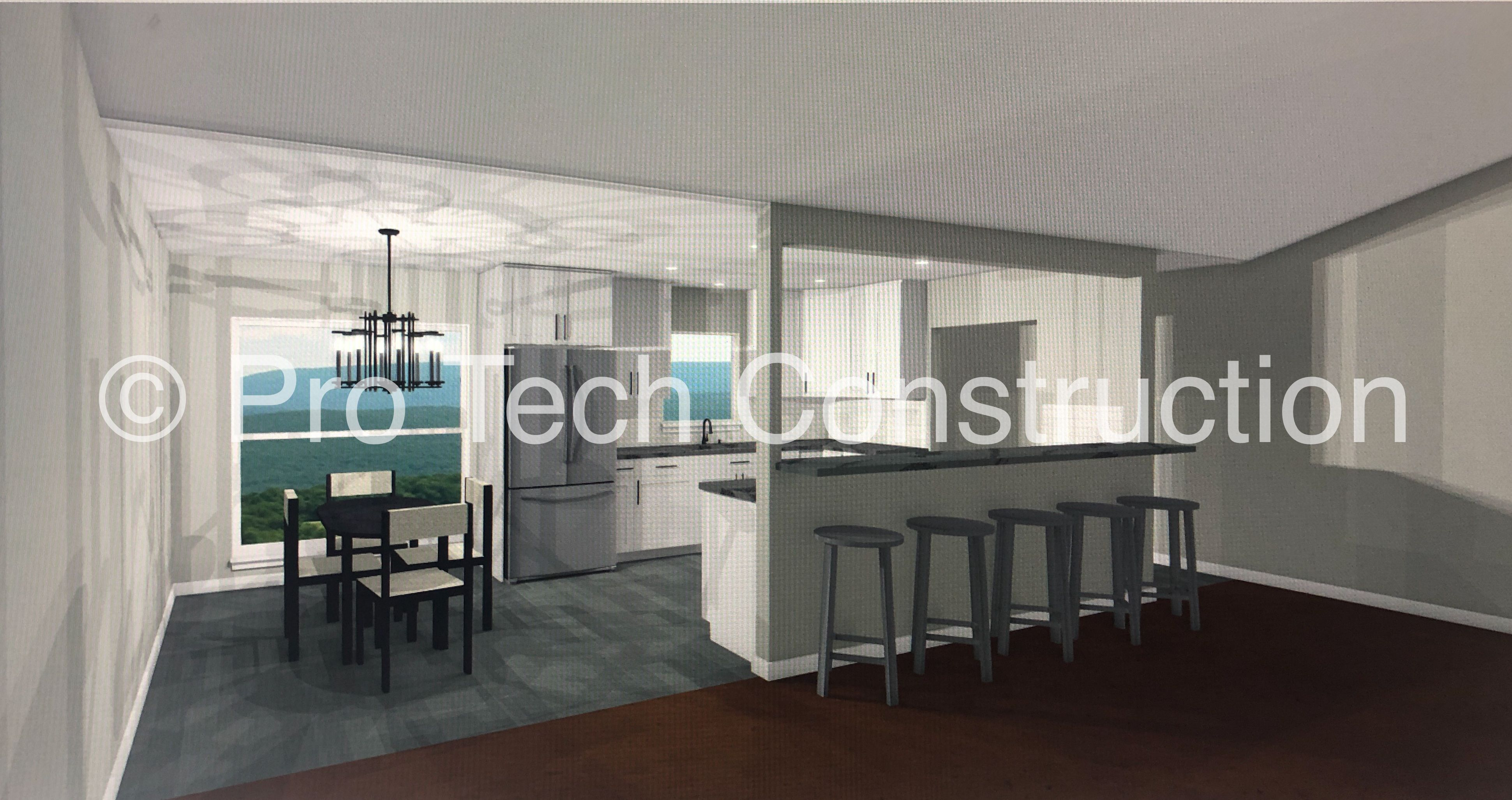 Kitchen Design Plan Remodel In Chief Architect By Pro Tech