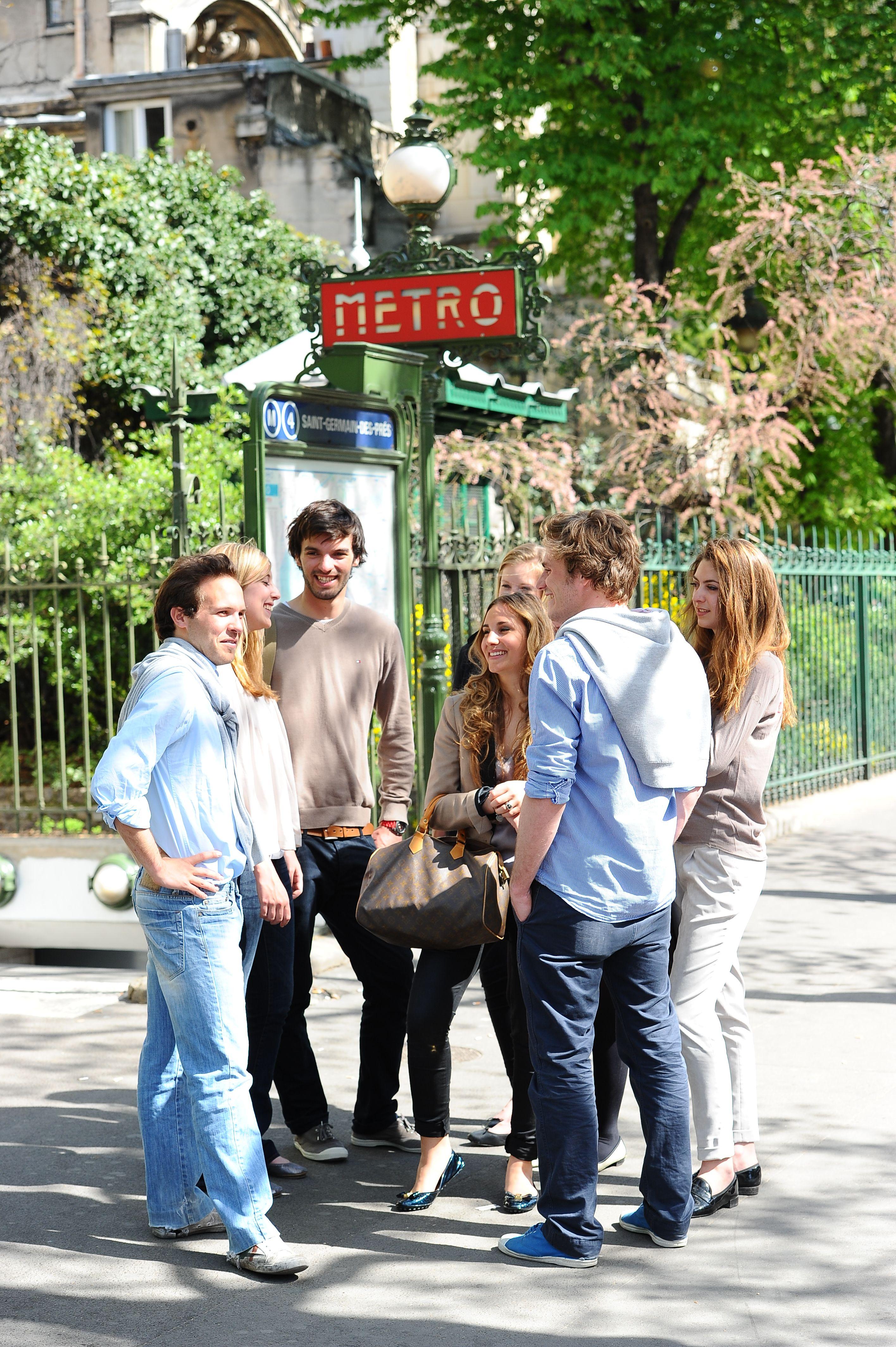 """""""Metro Saint Germain"""" Ipag Paris"""