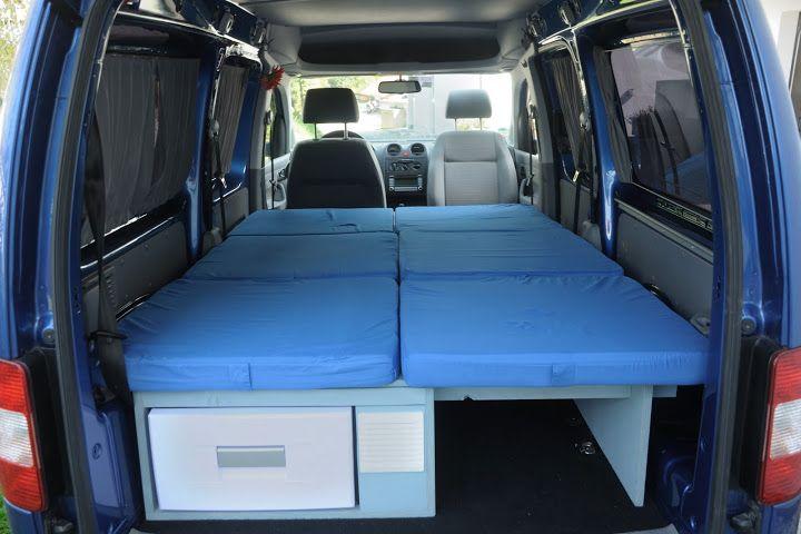 gute ausbau anleitung caddy inkl vorh nge volkswagen pinterest. Black Bedroom Furniture Sets. Home Design Ideas