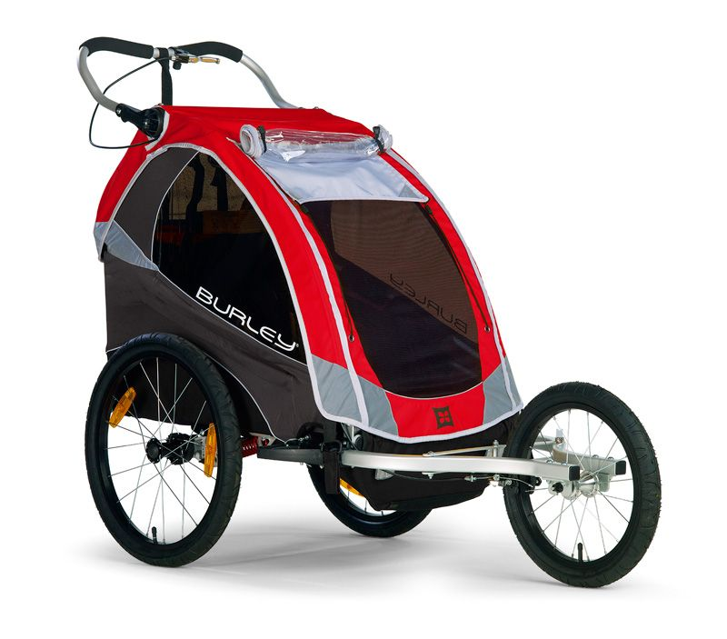 D'Lite Single Kid Bike Trailer and Stroller Burley