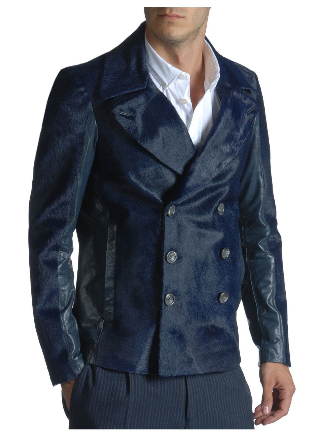 Diesel Black Gold Largoan Peacoat 36 Regular