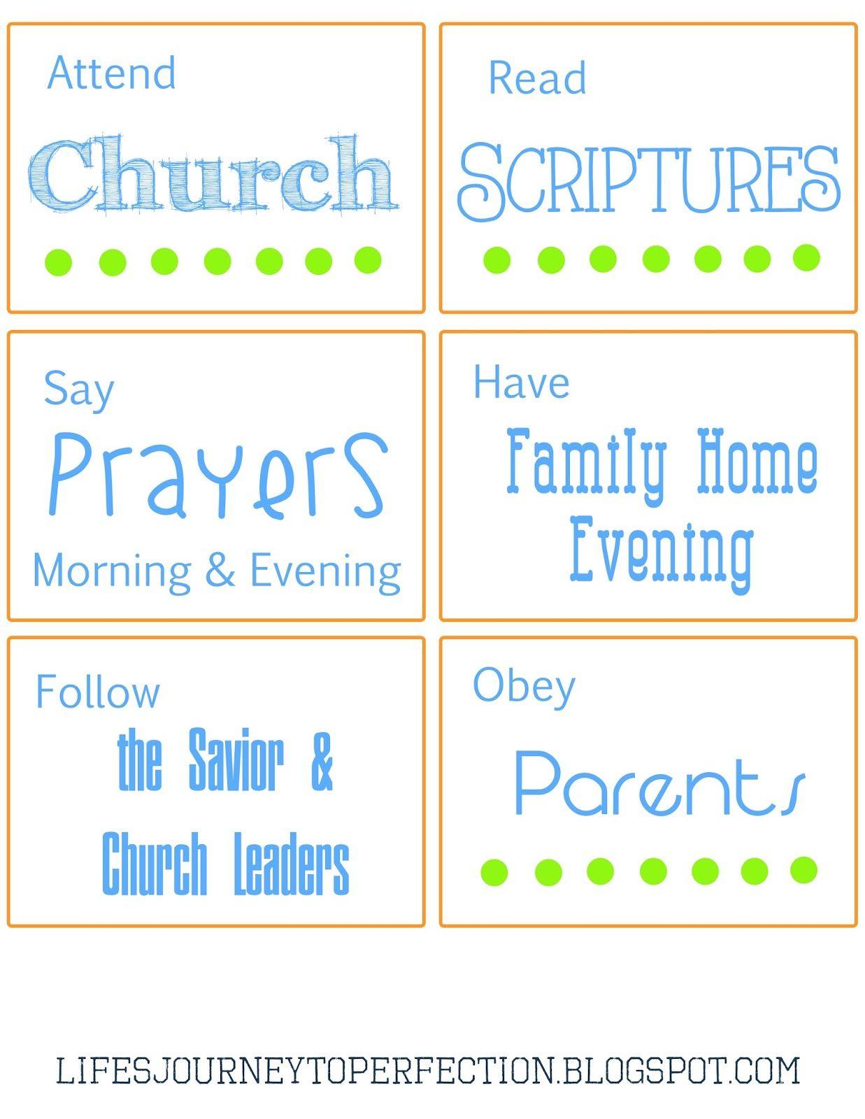 15 Family Home Evening Ideas to Help Prepare for LDS Bapstim | Craft ...