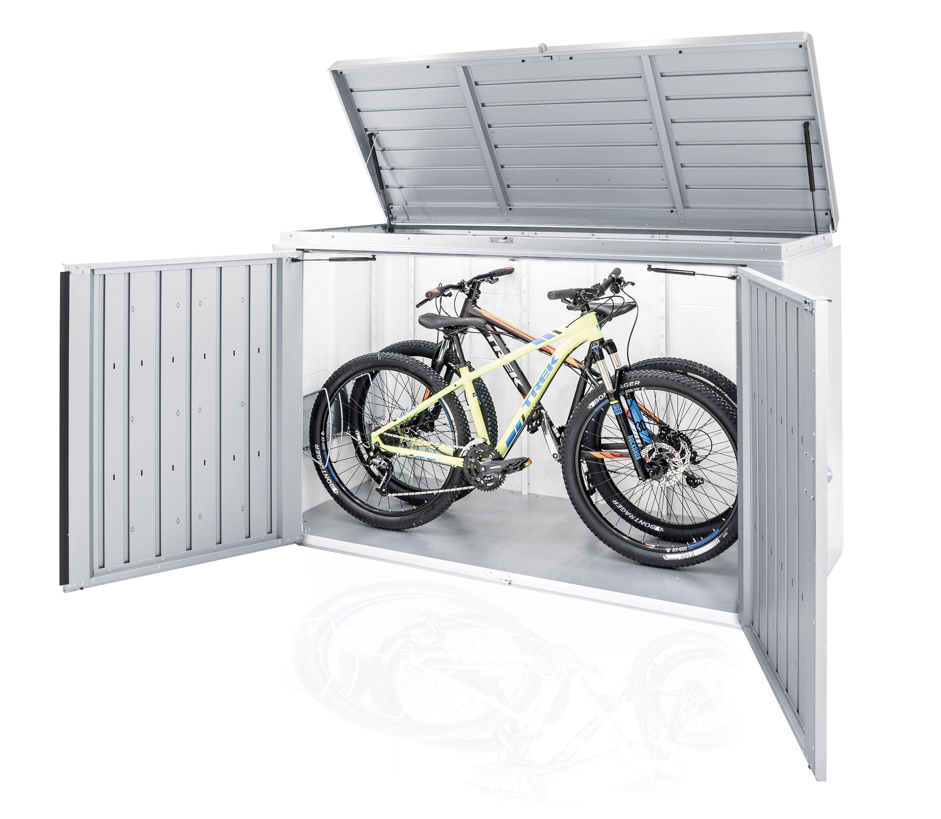 perfekt für Terasse & Garage   Highboard, Fahrradbox, Biohort