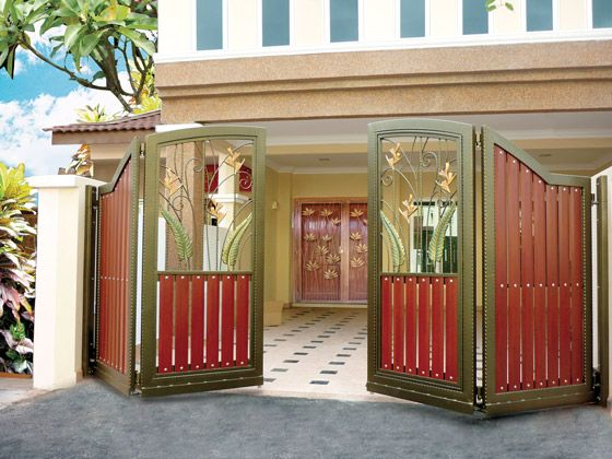 New Home Designs Latest.: Modern Homes Main Entrance Gate Designs.