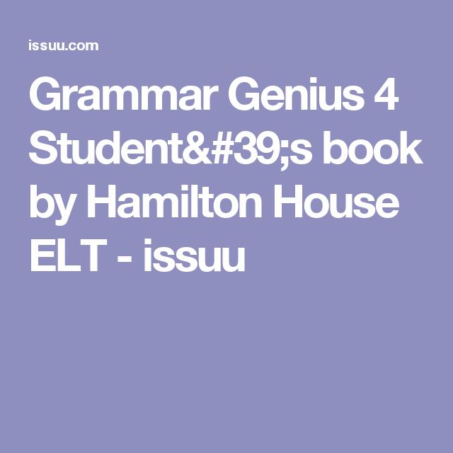 ответы grammar time 4