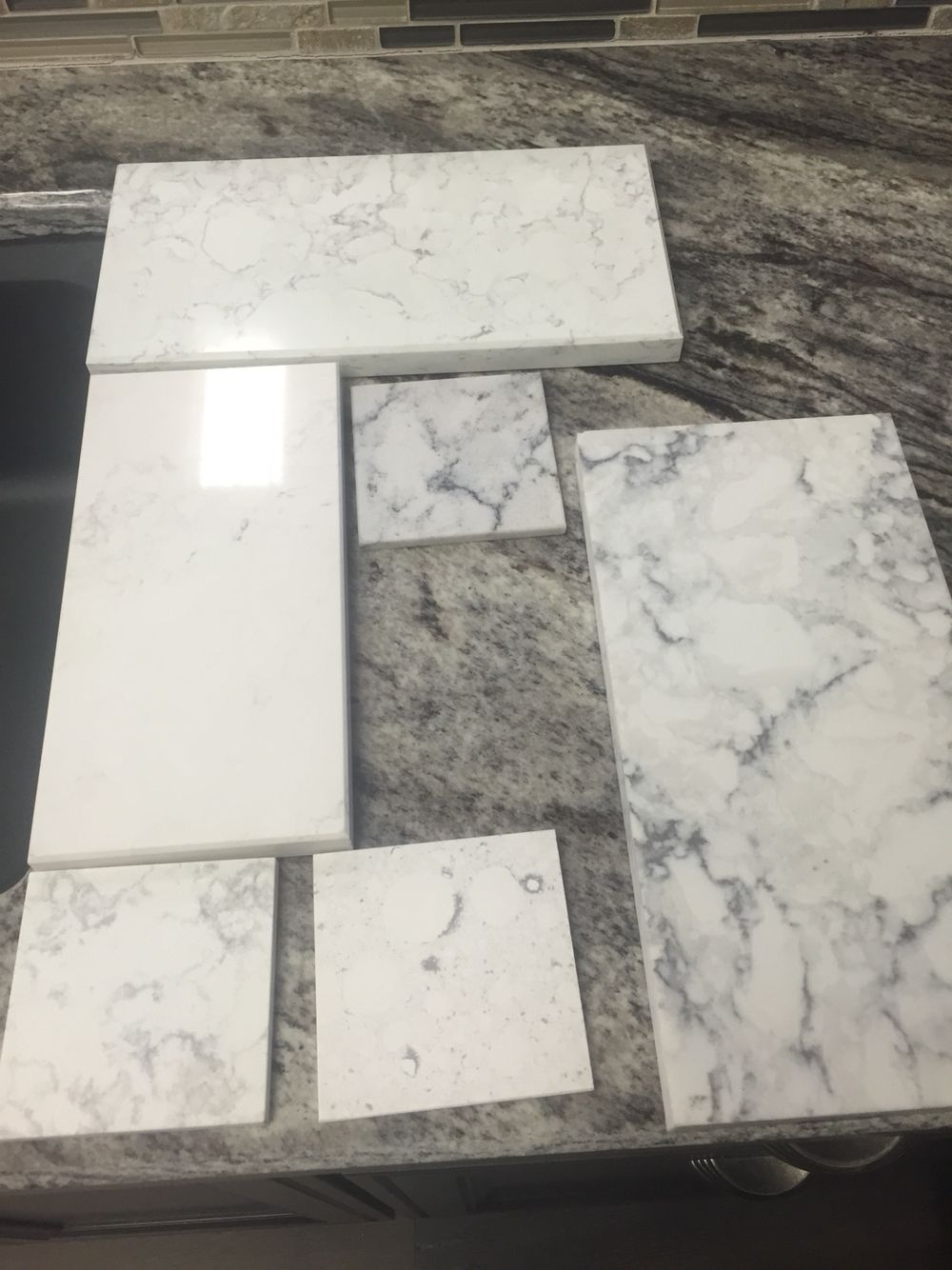 B & q küchenideen more practical alternative to white marble  calacatta nuvo by