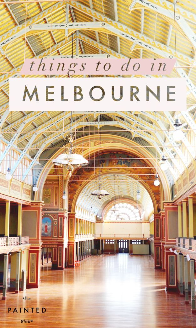 15 Things To Do In Melbourne Our 5 Day Itinerary Melbourne Gemalte Welt Australien