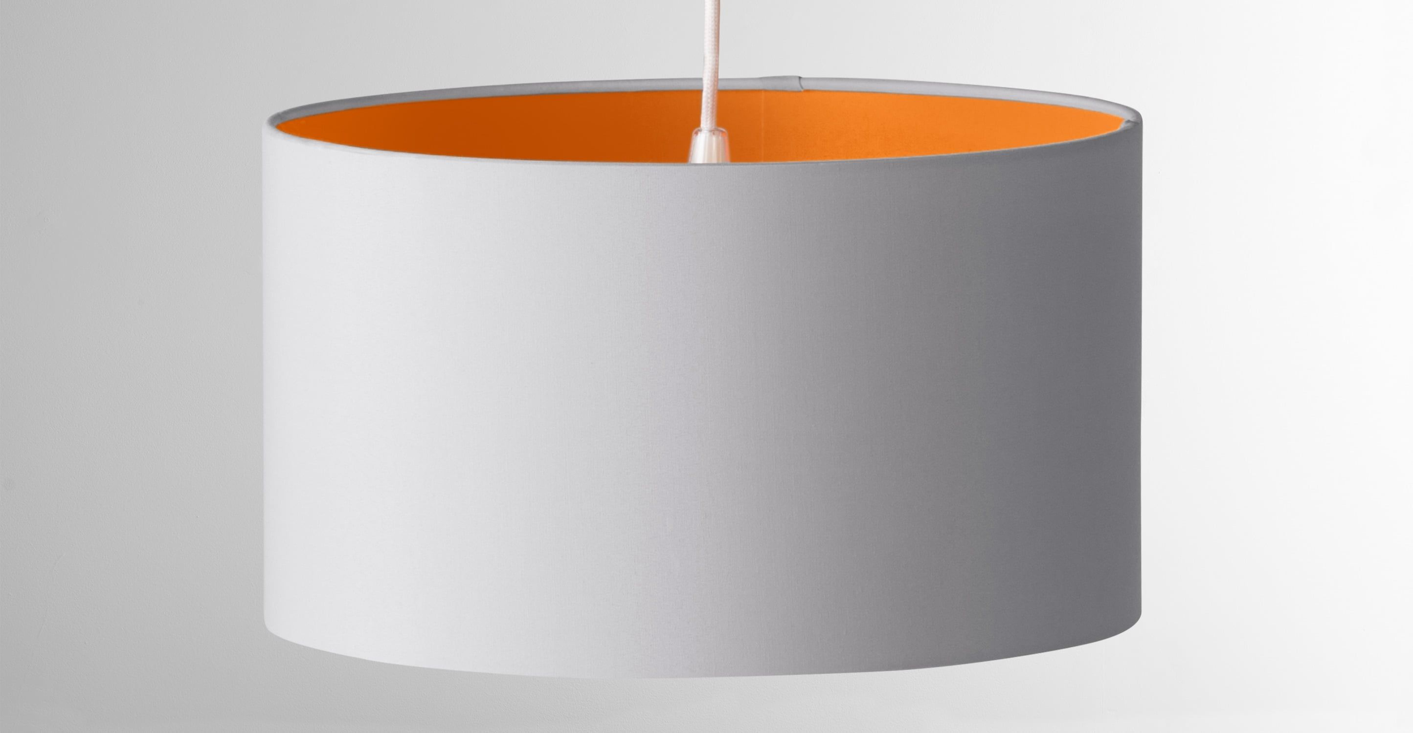 M Lighting Solutions Orange Lamp Design Pendant