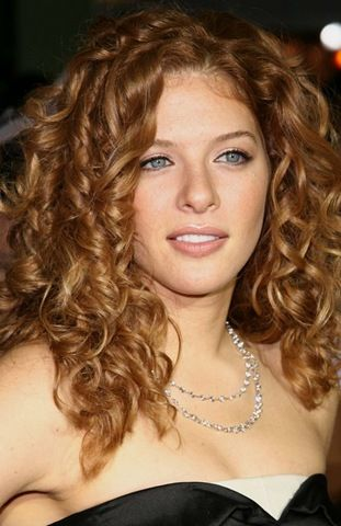 Top 10 Curly Celebrity Hairstyles To Inspire You Dark Strawberry Blonde Hair Curly Hair Styles Strawberry Blonde Hair