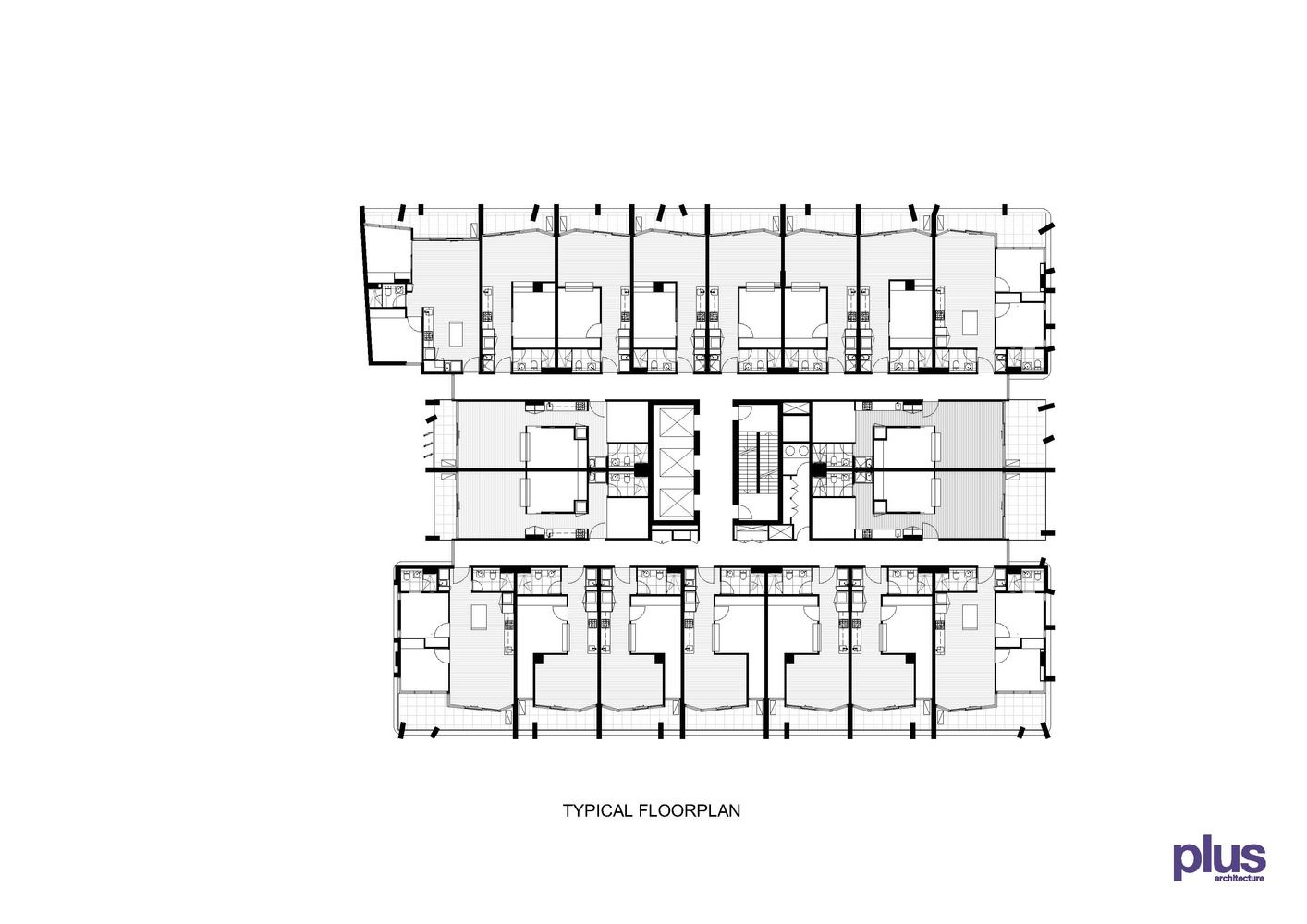 Gallery Of The Eminence Plus Architecture 17 Hotel Floor Plan Floor Plans Hotel Floor