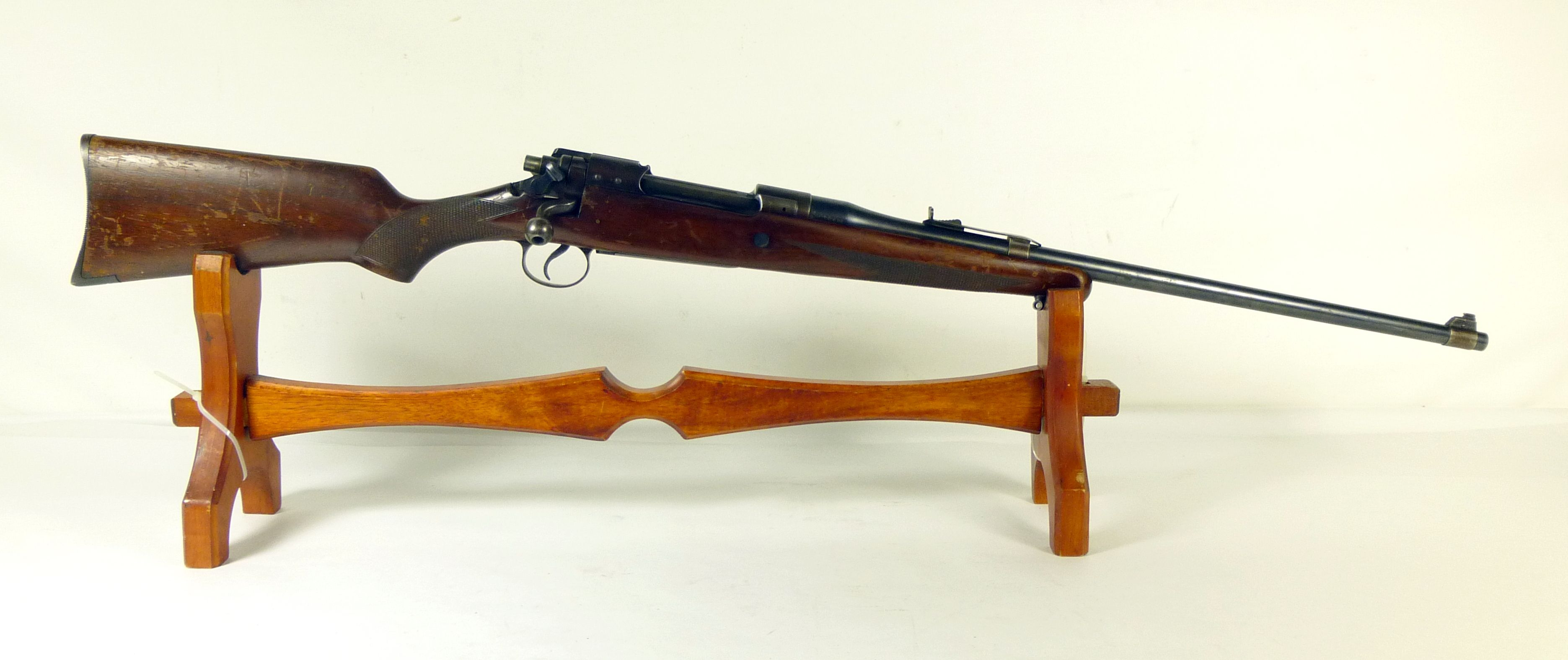 """***Remington Mod 30 Express .30-06 22"""" (30A)*** The Remington Model 30 is a US sporting rifle of the inter-war period based on the military M1917 Enfield rifle action. With a 22"""" barrel, and barrel-mouned sight, this rifle appears to be a standard Model 30A ... $975.00"""