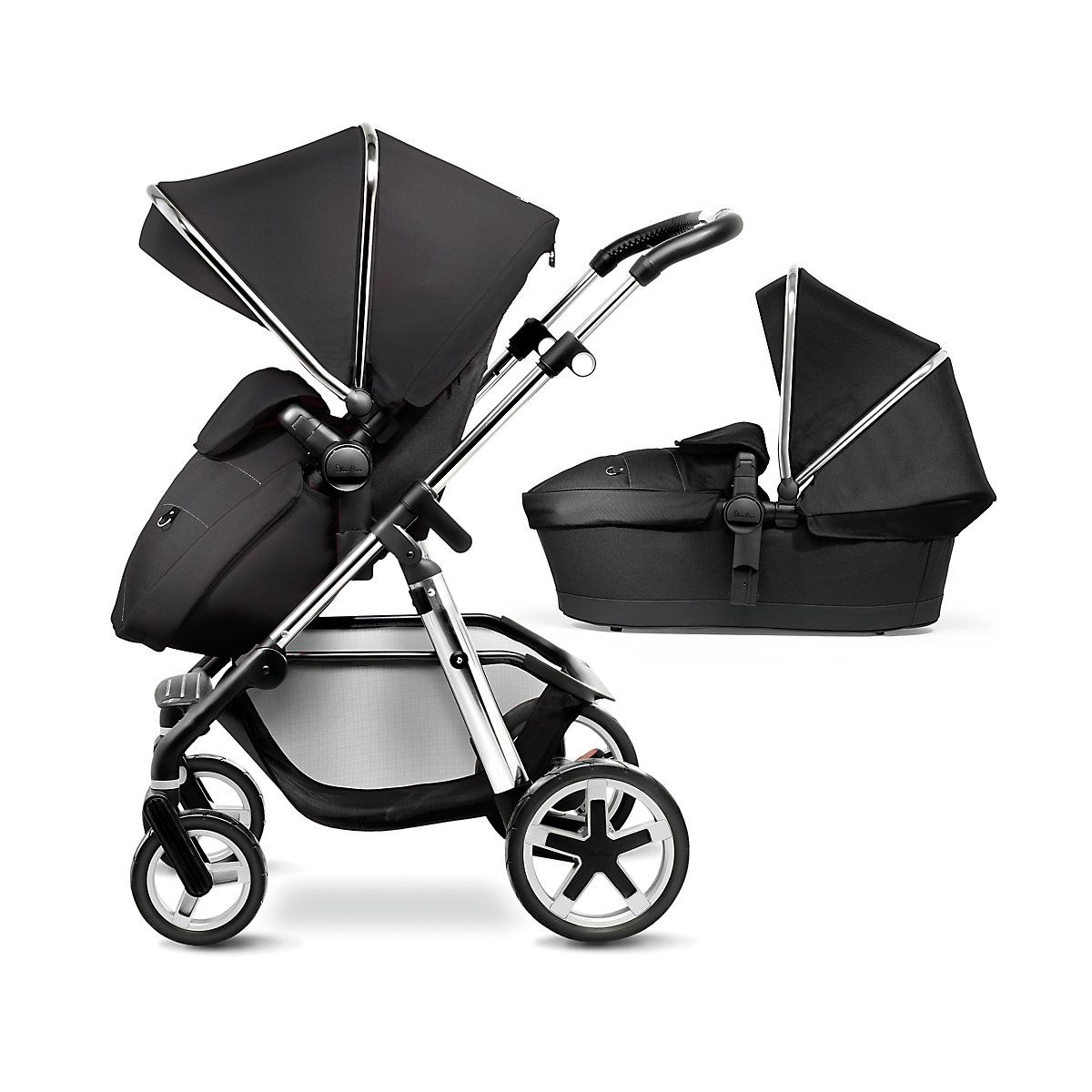 Mothercare Roam pram and pushchair travel system comes