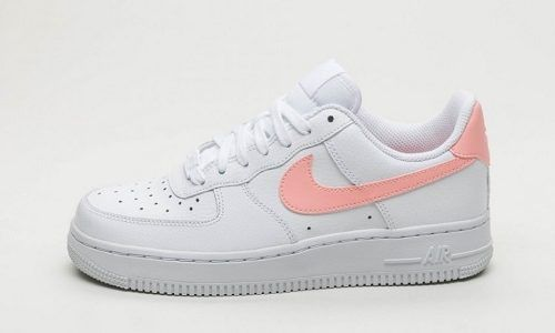 Nike Wmns Air Force 1 – White / Oracle Pink in 2019 | Pink ...