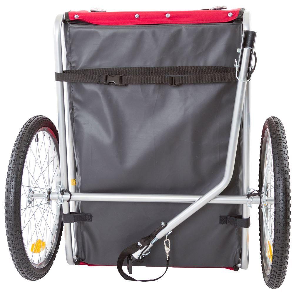 Rage Powersports Red PullBehind Dog Bicycle Trailer Pet
