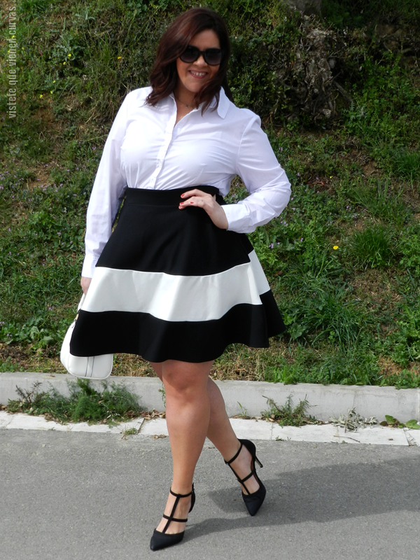 neo skater skirt · outfit | plus size fashion & style inspiration
