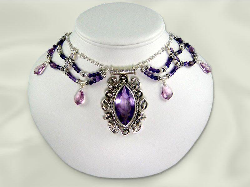 Prom Jewelry | Fashion jewelry wholesale featuring Victorian style Swarovski Austrian ...