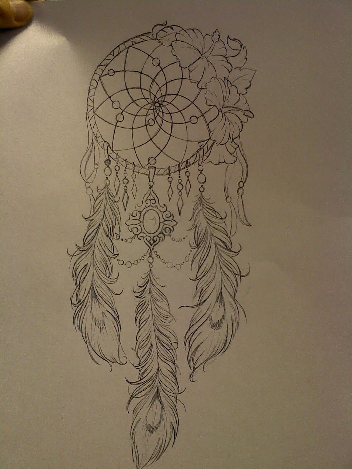 A Design Dream: Dream Catcher With Peacock Feathers