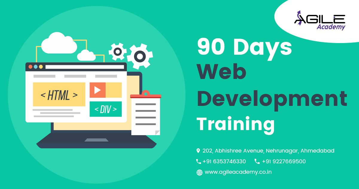 It S Easy To Learn Practical Rather Than Theoretical Get 90 Days Web Development Training Throug Web Design Training Web Development Training Learn Web Design