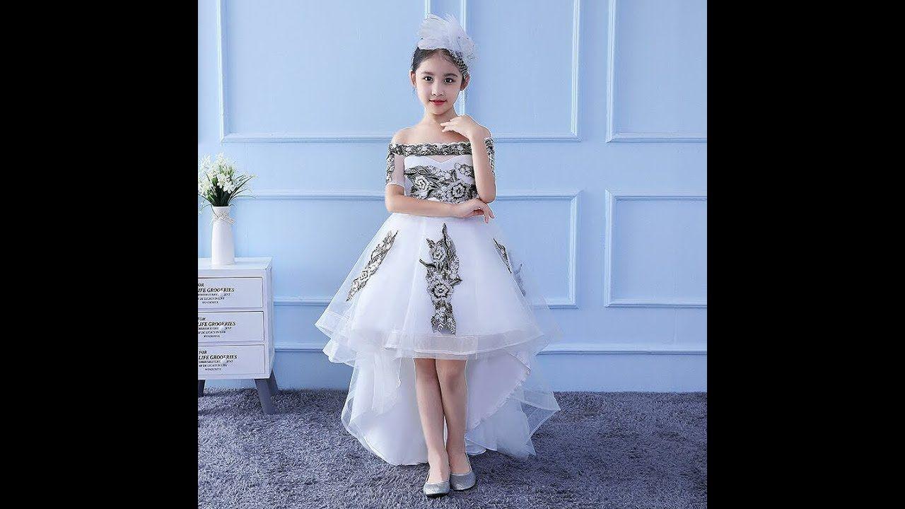 احدث موديلات فساتين اطفال للمناسبات روعة فساتين اطفال 2019 Girls Cotton Dresses Chiffon Evening Dresses Evening Dresses
