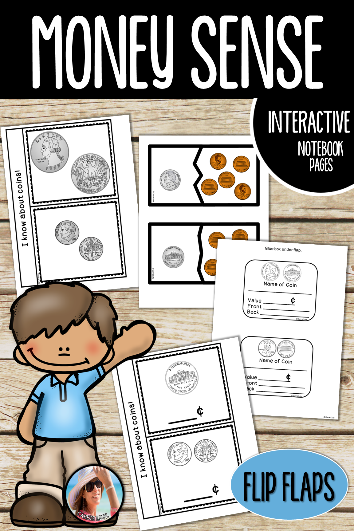 Money Interactive Notebook Pages And More
