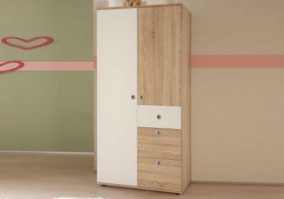 Jumbo Möbel Kleiderschrank 2türig von WIKI in Eiche