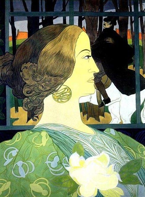 Georges de Feure (1868-1943) French Art Nouveau Painter ~ Blog of an Art Admirer