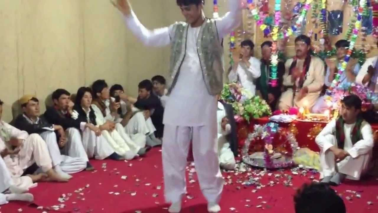 Afghan boy dance 2014