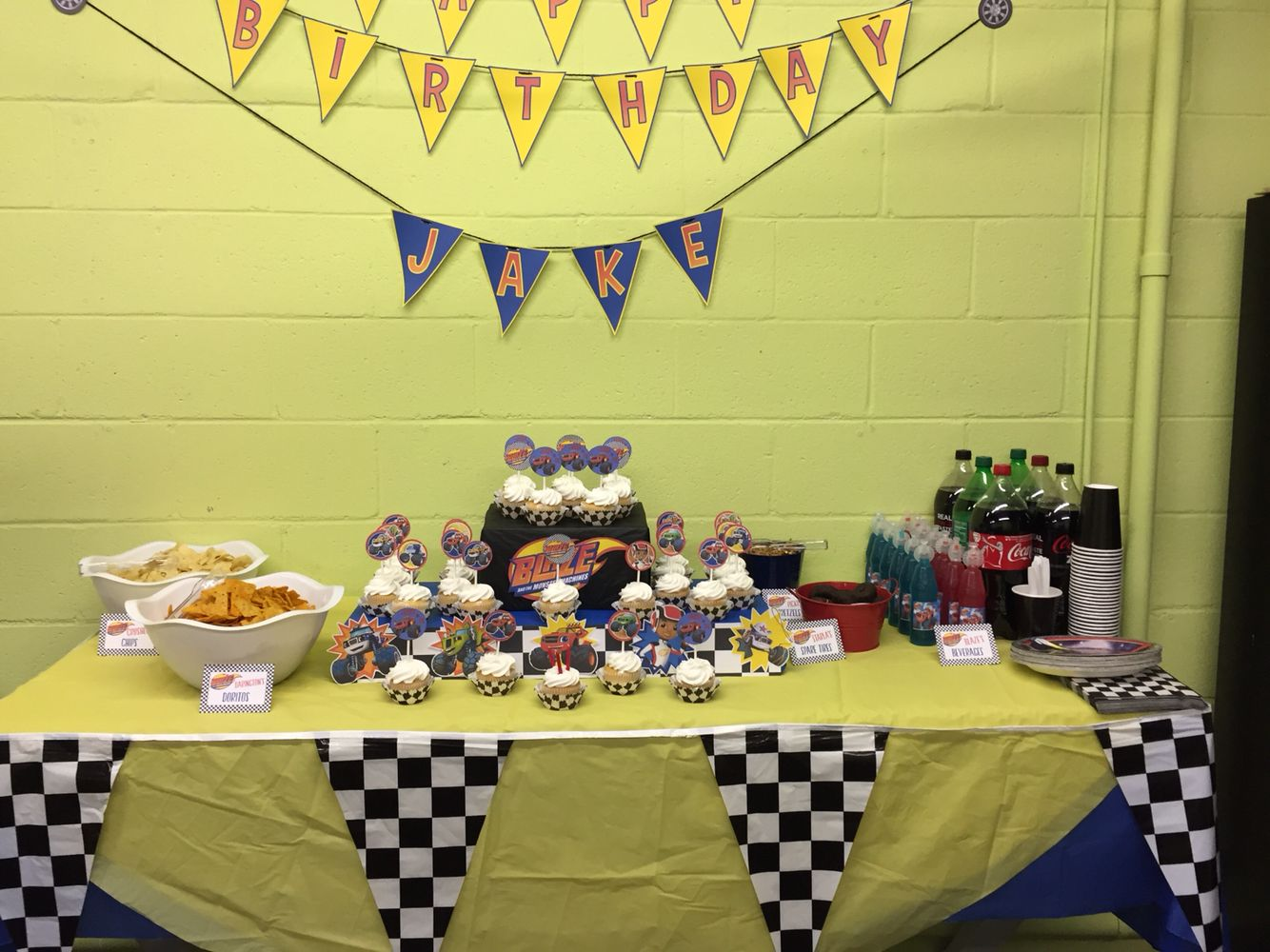 105 best blaze and the monster machines themed birthday party
