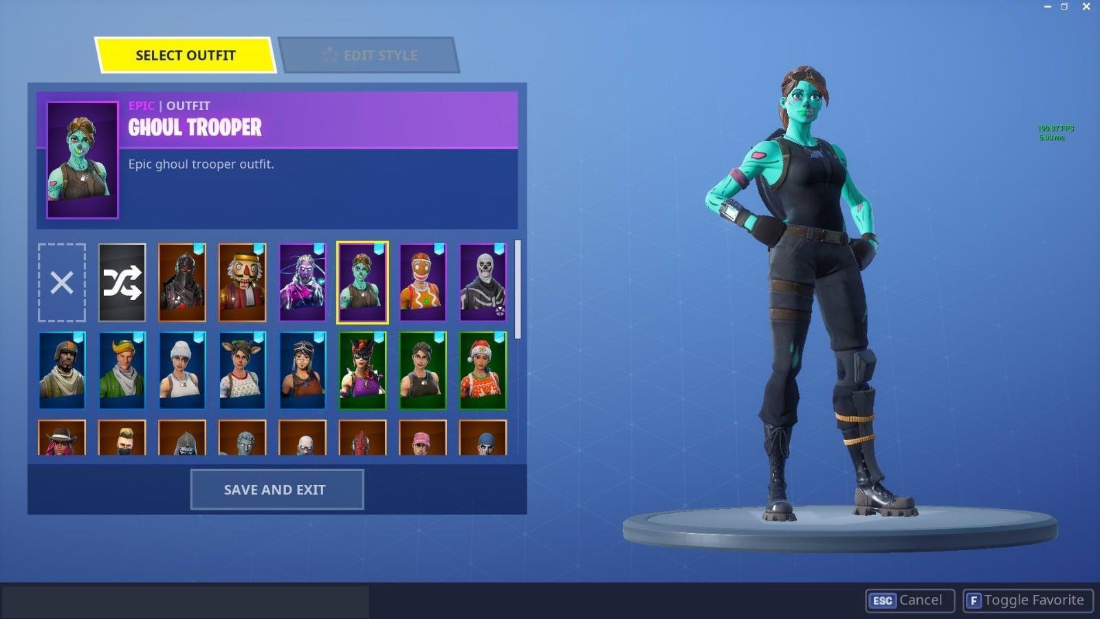 Fortnite Account With Renegade Raider Ghoul Trooper And More Read Description Epic Fortnite Ghoul Trooper Fortnite