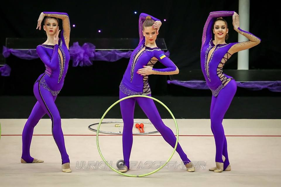 Group Ukraine Miss Valentine 2016 Rhythmic Gymnastics